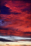 Dramatically cloudy Sky Royalty Free Stock Images