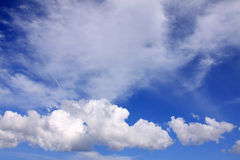 Dramatically cloudy Sky Stock Photography