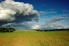Dramatisch landschap Stock Foto