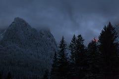 Dramatische Berg Stock Foto's