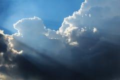 Dramatische Cloudscape stock foto's
