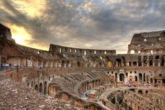 Dramatische Colosseum Stock Foto's