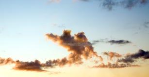 Dramatische hemel Royalty-vrije Stock Afbeelding