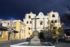 Dramatische Hemel boven La Merced Royalty-vrije Stock Afbeeldingen