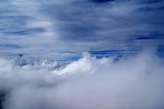 Dramatische hemel en wolken Stock Fotografie