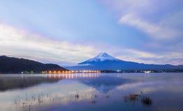 Dramatische hemel over MT Fuji: Japan Royalty-vrije Stock Afbeeldingen
