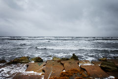 Dramatische oceaan Royalty-vrije Stock Afbeelding