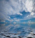 Dramatische oceaanmening Stock Foto's