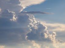 Dramatische onweerswolken Royalty-vrije Stock Fotografie