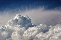 Dramatische onweerswolken Royalty-vrije Stock Foto