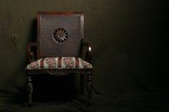 Dramatische stoel Stock Afbeeldingen
