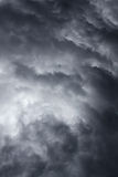 Dramatische stormachtige hemel Royalty-vrije Stock Foto's