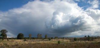 Dramatische wolk Royalty-vrije Stock Fotografie