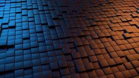 Dramatisk bakgrund för abstrakt begrepp 3D Royaltyfri Foto