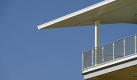 dramatisk balkong Arkivfoton