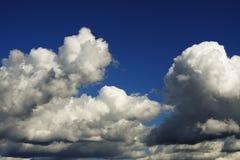 dramatisk cloudscape Arkivfoto