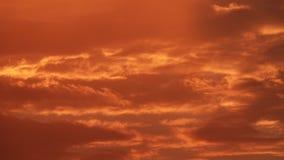 Dramatisk härlig och färgrik fantastisk röd solnedgång röd sky stock video