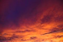 dramatisk morgon Arkivfoton