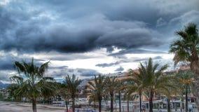Dramatisk plats i Alcudia Royaltyfri Foto