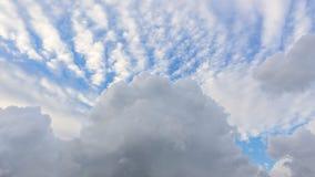 dramatisk sky Arkivbild
