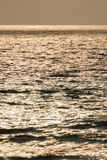 dramatisk solnedgång Arkivfoton