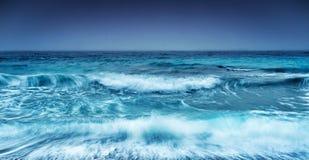 Dramatisk stormig seascape Royaltyfri Bild