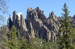 Dramatiska höjdpunkter i bergen royaltyfri bild