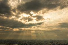 Dramatiska Osaka Royaltyfri Fotografi