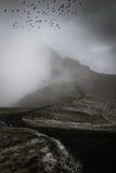 Dramatiskt berg arkivbilder
