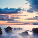 dramatiskt hav Arkivfoto