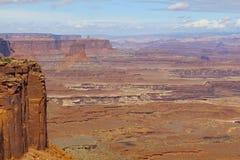 Dramatiskt landskap, Utah royaltyfria foton
