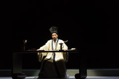 """Dramatopisarz blaszecznica Xianzu, Jiangxi opera""""four sen linchuan† - zdjęcie royalty free"""
