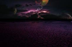 Dramatyczna burza Zdjęcia Stock