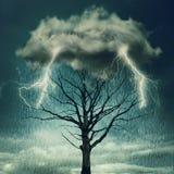Dramatyczna burza Fotografia Stock