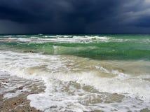 Dramatyczna burza na oceanie Obraz Stock