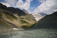 dramatyczna krajobrazowa góra Obrazy Royalty Free
