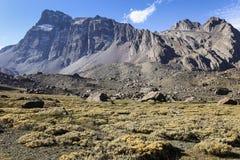 Dramatyczne Andes góry Zdjęcia Royalty Free