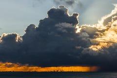 Dramatyczne chmury Obraz Royalty Free