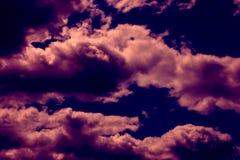 dramatyczne niebo Obrazy Royalty Free