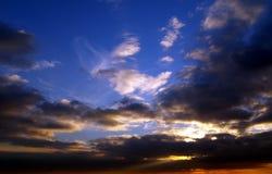 dramatyczne niebo Obraz Royalty Free