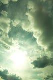 dramatyczne niebo Fotografia Stock