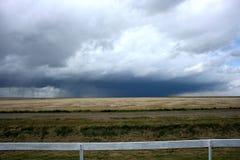 dramatyczne prairie niebo Obraz Stock