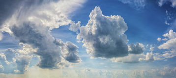 dramatyczne tła niebo Zdjęcie Royalty Free