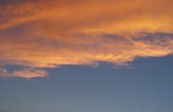 dramatyczne tła niebo Fotografia Royalty Free