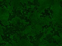 Dramatycznego zielonego grunge bezszwowa kamienna tekstura Zielonego venetian tynku tła grunge bezszwowa kamienna tekstura Szmara Obrazy Royalty Free