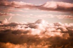 Dramatyczni nieba Zdjęcie Stock