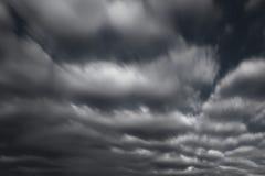 dramatyczny chmury Zdjęcia Stock