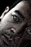 Depresja Kluczowy portret fotografia stock