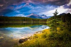 dramatyczny krajobraz Fotografia Royalty Free