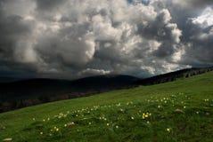 Dramatyczny Krajobrazowy HDR zdjęcia stock